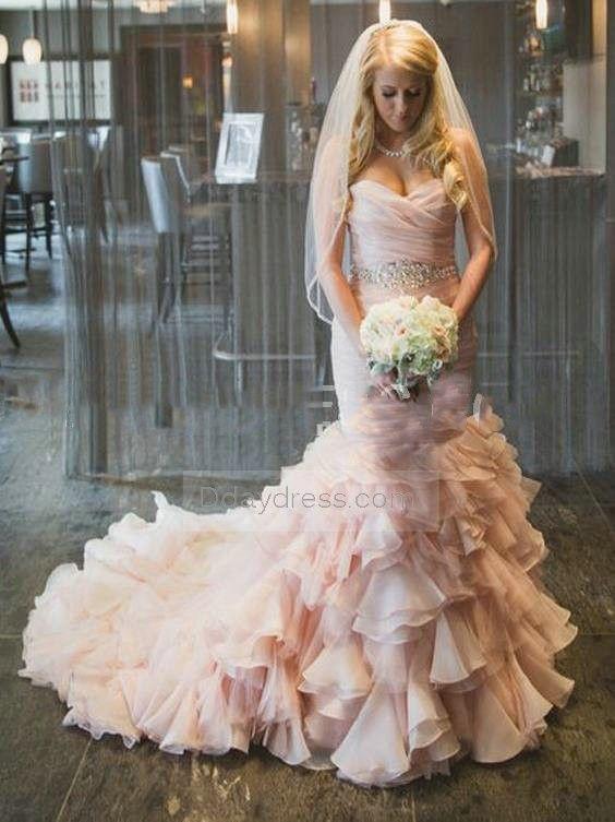 甜蜜蜜的粉色系婚纱图集欣赏-21.jpg