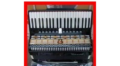 鹦鹉牌手风琴 - 1800元