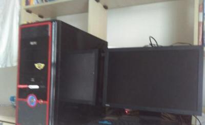 双核台式机和显示器 - 600元