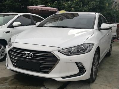 现代 领动 2016款 1.6 自动 智炫豪华型   车价七万